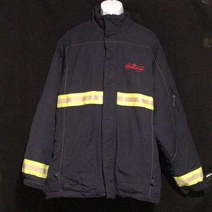 Budweiser Bud Anheuser Reflector Employee Coat